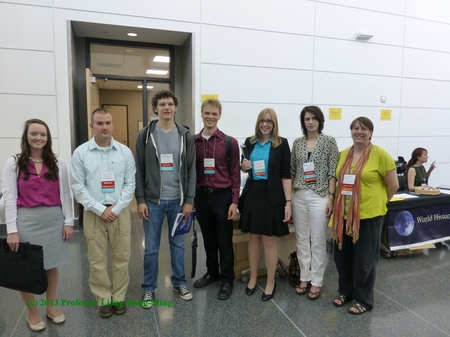 2013 Middle Ground Journal Student Interns at the World History Association Annual Conference
