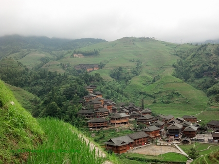 Hiking in the Rice Terraces, Tianjin, China -- The North Star Project, Summer Report Number Thirty-Three -- The Middle Ground Journal